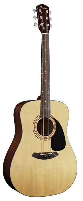 Акустическая гитара Fender cd-60s nat массив