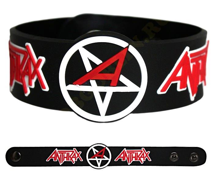 Музыкальный сувенир Браслет Anthrax