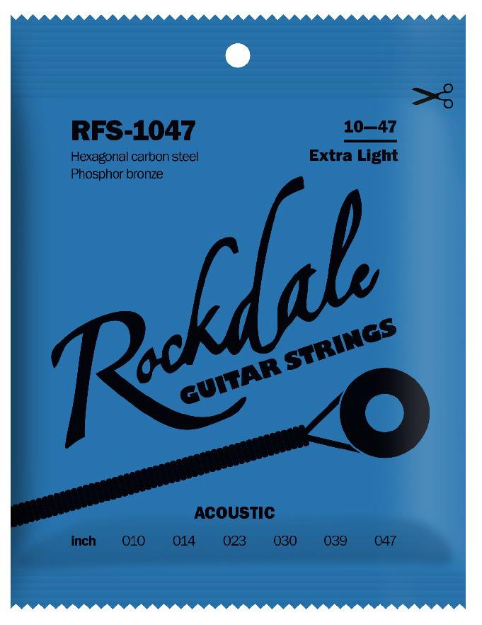 ROCKDALE RFS-1047 Струны для акустической гитары