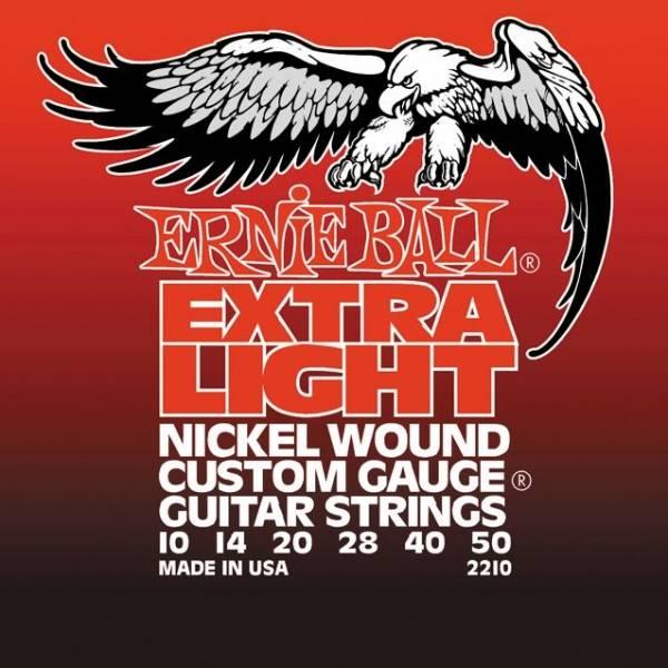 Струны для электрогитары ERNIE BALL 2210 (10-14-20w-28-40-50)