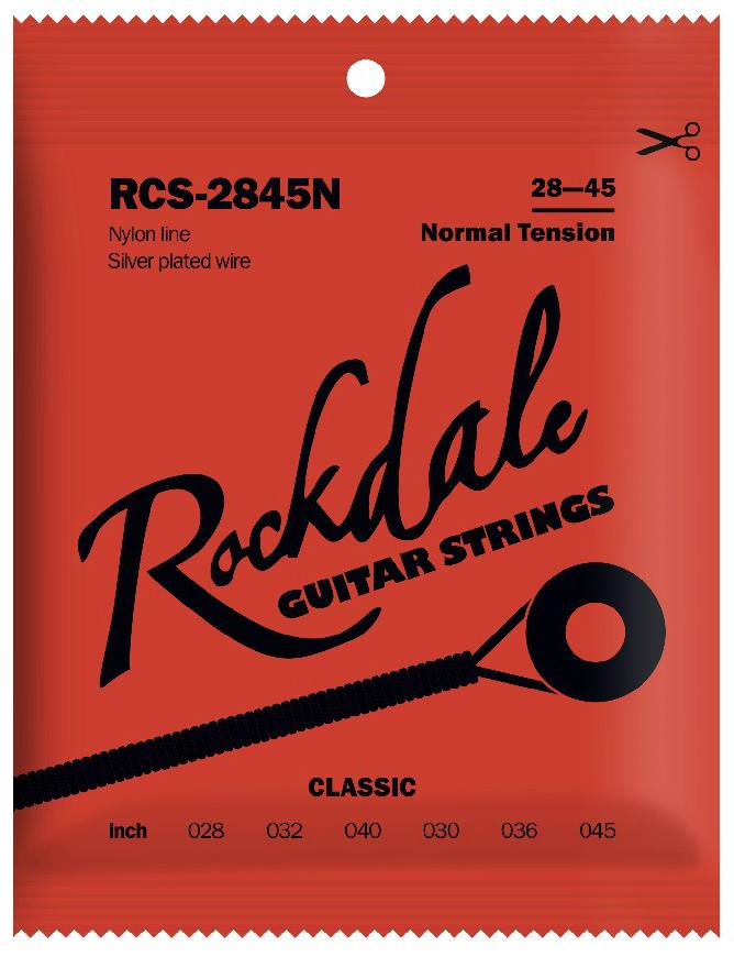 ROCKDALE RCS-2845N Струны для классической гитары