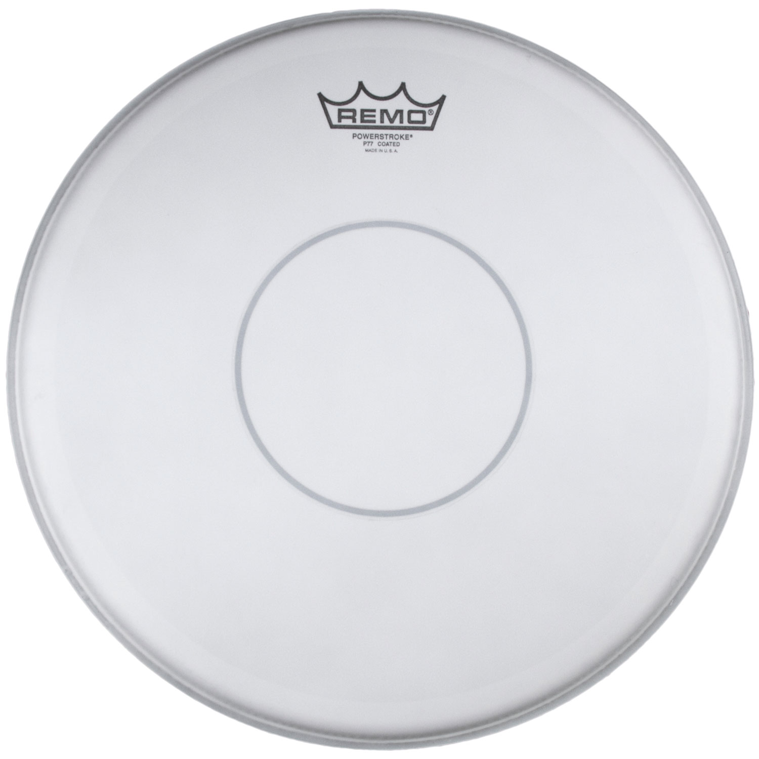 "Remo 13/"" Clear Powerstroke 77 Batter Drumhead w// Clear Dot"