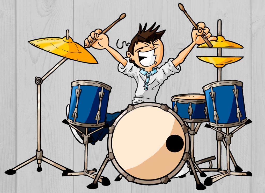 Прикольные картинки барабана