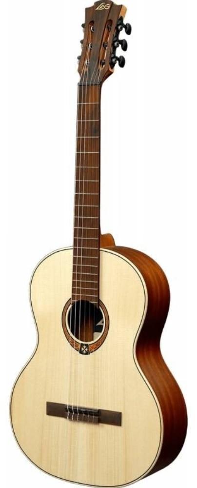 LAG GLA OC70-HIT - классическая гитара с встроенным тюнером, цвет натуральный