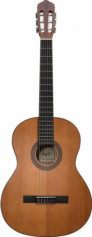 FLIGHT C-225 NA 4/4 - классическая гитара 4/4, матовое, верхн. дека-кедр, корпус-сапеле, цвет натура