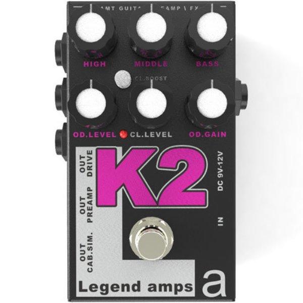K-2 Legend Amps 2 Двухканальный гитарный предусилитель K2, AMT Electronics