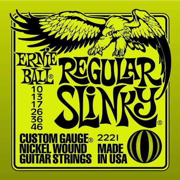 Струны для электрогитары ERNIE BALL 2221 (10-13-17-26-36-46)