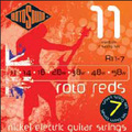 ROTOSOUND R11-7 STRINGS NICKEL MEDIUM струны для 7-струнной электрогитары, никелевое покрытие, 11-58