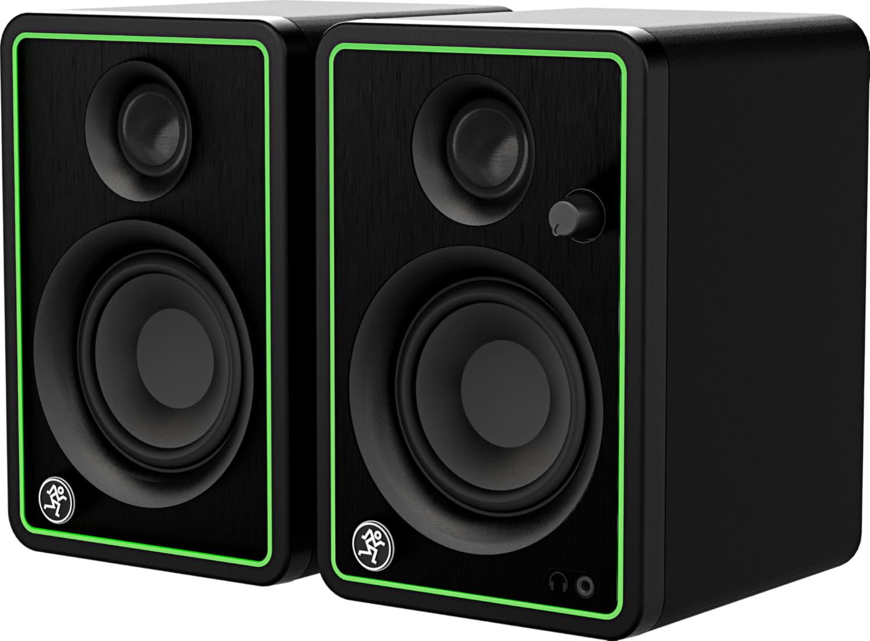 MACKIE CR3-X MACKIE CR3-X пара студийных мониторов, мощность 50 Ватт, динамик 3', твиттер 0,75&