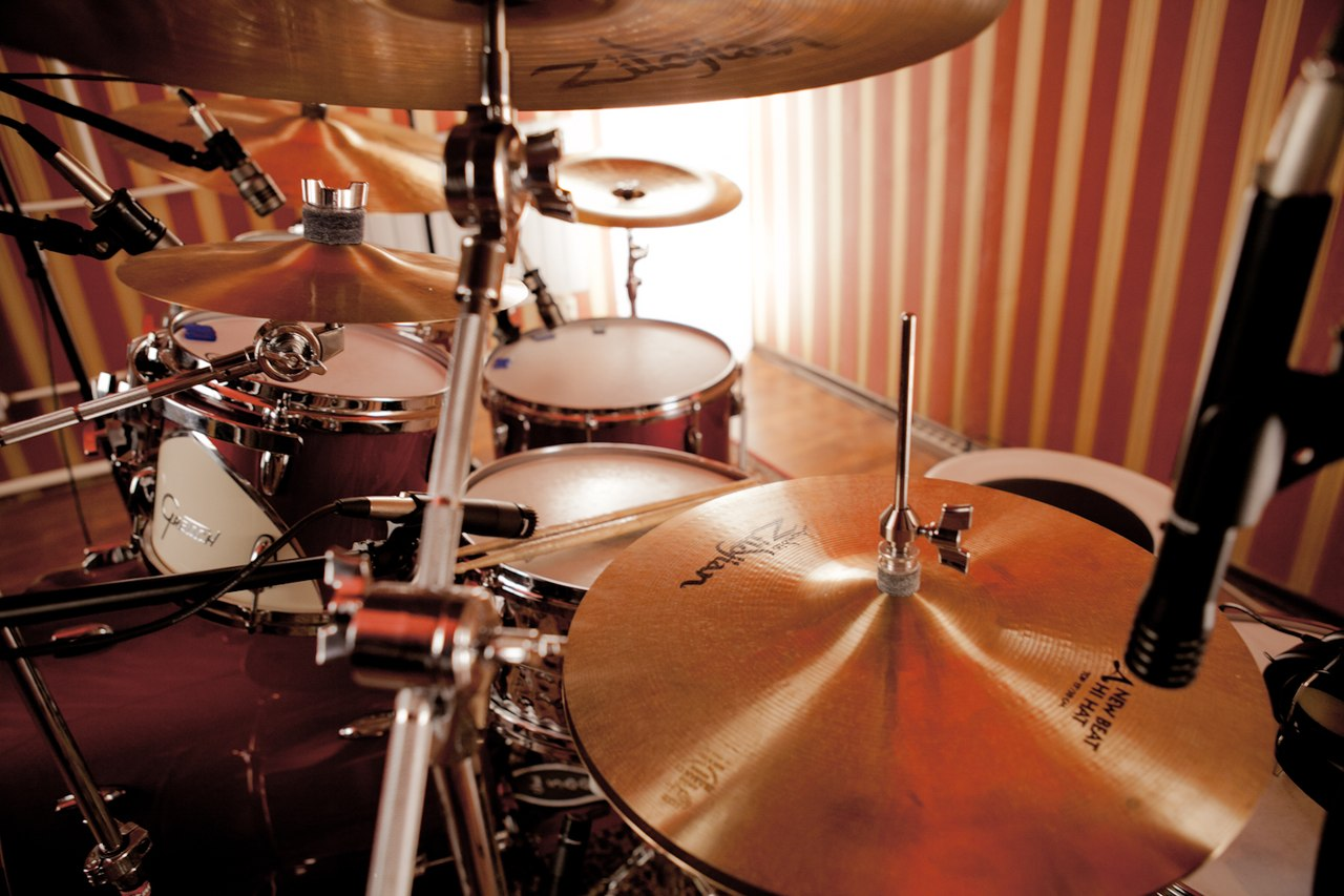 Барабаны красивая картинка