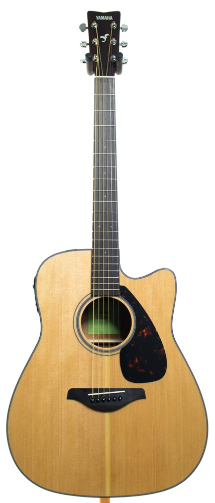 Электроакустическая гитара YAMAHA FGX800C NATURAL