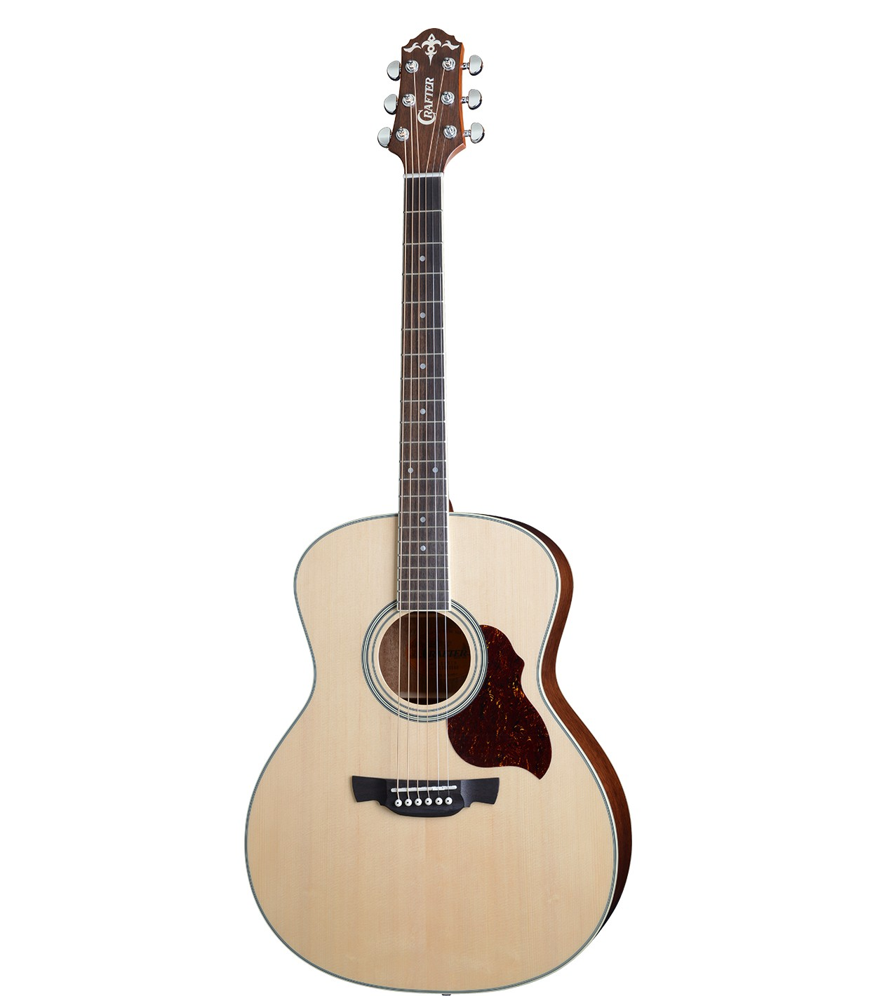 CRAFTER GA-6/NС   Чехол - акустическая гитара Гранд Аудиториум- верх-цел. ель, корпус-махагон, натур