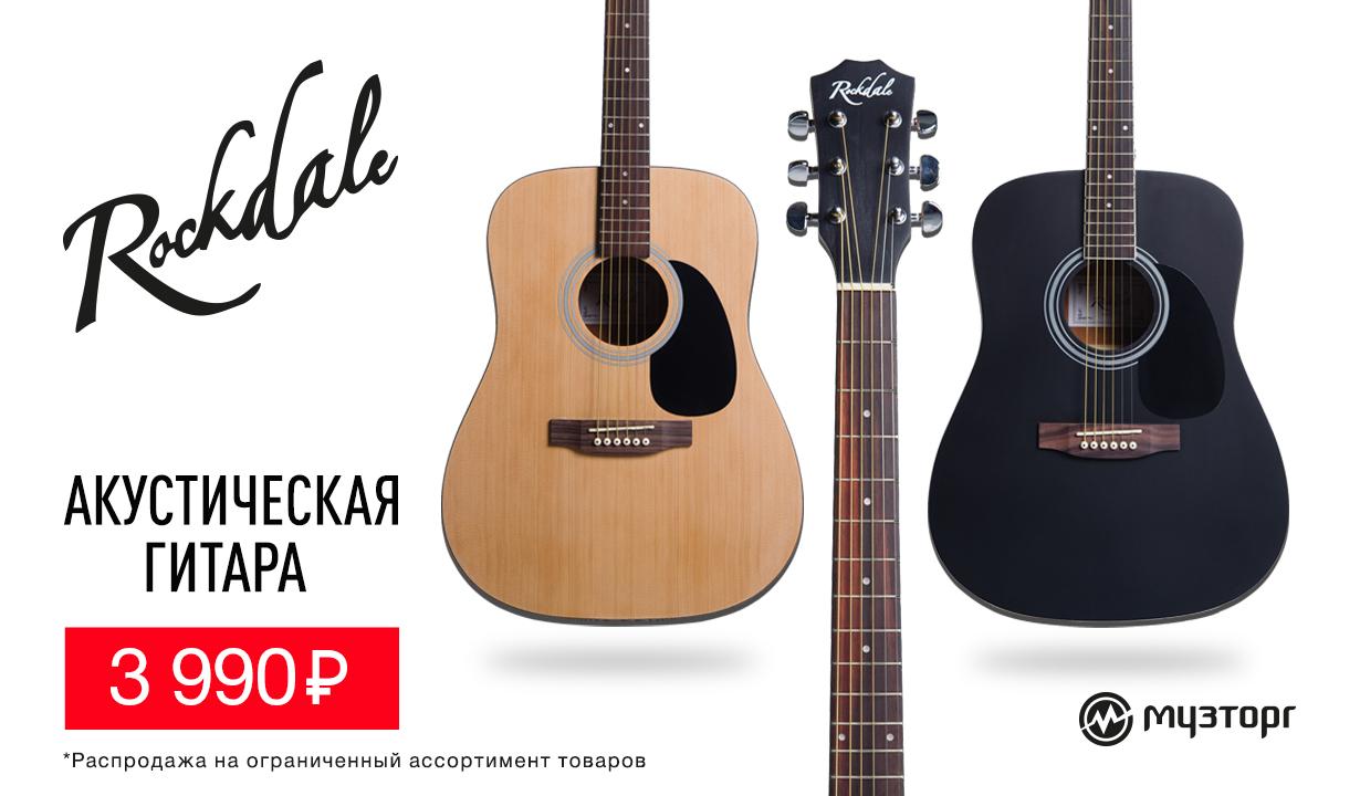 Скидки на гитары Rockdale SDN
