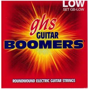 GHS GB-LOW - струны для электрогитары - никелир.сталь, кругл.обмотка; (11-15-19-33-43-53); Boomers