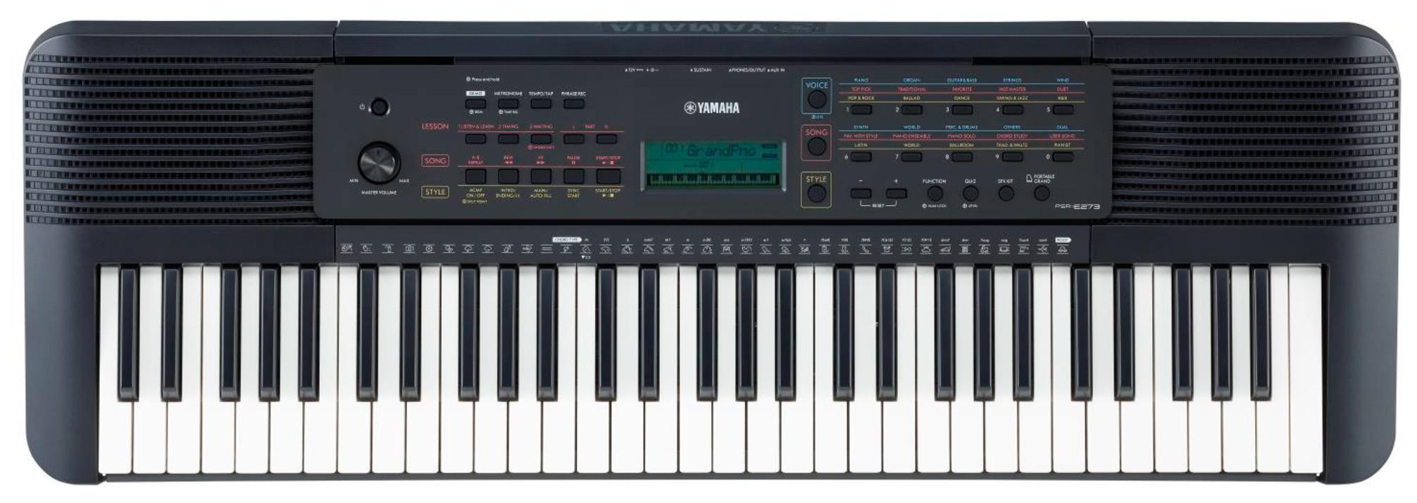 YAMAHA PSR-E273 синтезатор с автоакк. 61клавиша