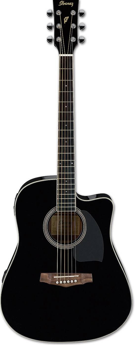 Электроакустическая гитара IBANEZ PF15ECE-BK