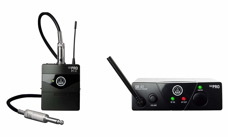 AKG WMS40 Mini Instrumental Set BD US25D (540.400) инструментальная радиосистема с поясным передатчи