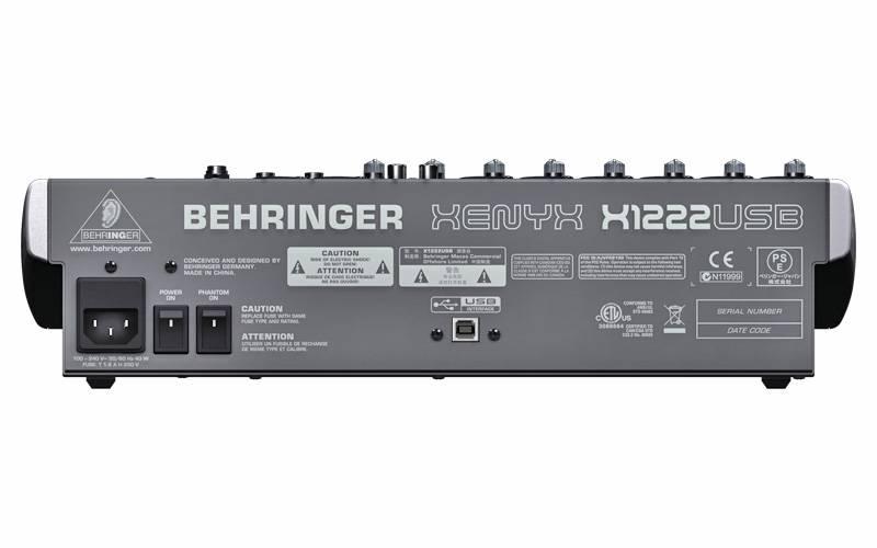 Микшерный Пульт Behringer Xenyx X1222usb Инструкция На Русском