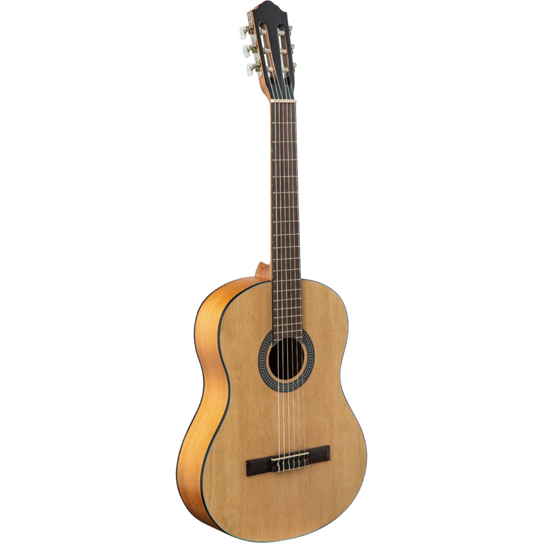 FLIGHT C-100 NA 4/4 - классическая гитара 4/4, верхн. дека-ель, корпус-сапеле, цвет натурал