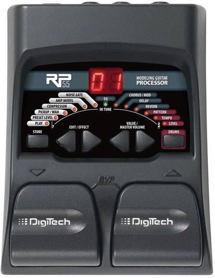 Инструкция на русском гитарный процессор digitech rp55
