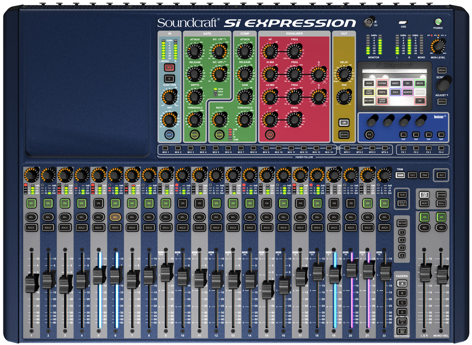 soundcraft si expression 1 инструкция на русском