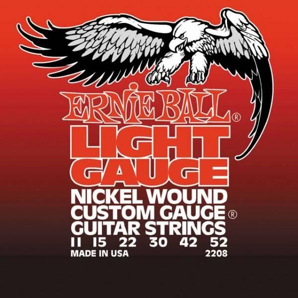 Струны для электрогитары ERNIE BALL 2208 (11-15-22w-30-42-52)