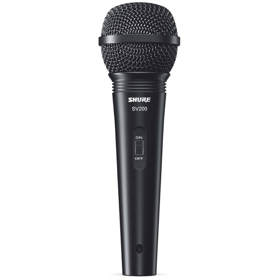 SHURE SV200-A микрофон динамический вокальный с выключателем