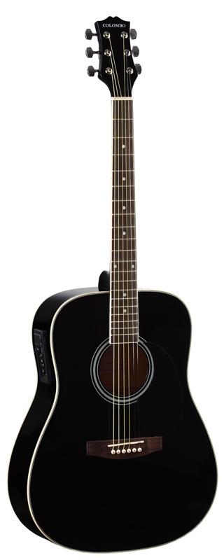 Электроакустическая гитара COLOMBO LF-4111EQ BK