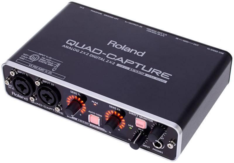 Внешний аудиоинтерфейс roland ua-55 quad-capture цена