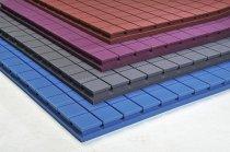Декор Панель 1000*500*50, черный фото