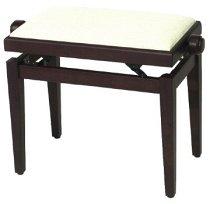 FX Piano Bench Rosewood Matt Beige Seat, GEWA  - купить со скидкой