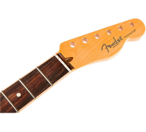 American Channel Bound Telecaster Neck, 21 Med Jumbo Frets, Rosewood фото