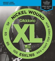 ESXL165 Nickel Wound Bass, Custom Light, 45-105, Long Scale фото