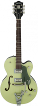 G6118T-SGR Players Edition Anniversary™ with String-Thru Bigsby®, Filter`Tron™ Pickups, 2-Tone Smoke Green фото