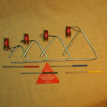 Зч-кт-тр-06 Комплект треугольников №6 (07-09-11-13 см., диаметр 6 мм.) фото