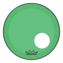 P3-1318-CT-GNOH Powerstroke® P3 Colortone™ Green Bass Drumhead, 18`, 5` Offset Hole фото