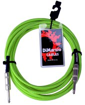 INSTRUMENT CABLE 10` NEON GREEN EP1710SSGN фото