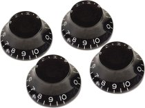 TOP HAT KNOBS BLACK4 PCS. фото