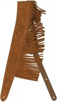 SUEDE FRINGE STRAP – BROWN фото