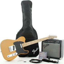 FENDER SQUIER AFFINITY TELE®&FRONTMAN 15G - BUTTERSCOTCH BLONDE