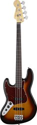 FENDER AMERICAN STANDARD JAZZ BASS 2012 LEFT HANDED RW 3-COLOR SUNBURST