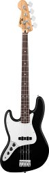 FENDER STANDARD JAZZ BASS LH RW BLACK TINT