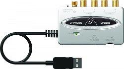 Behringer UFO202 - цифровой аудиоинтерфейс с предусилителем, для оцифровывания записи с ленты и вини