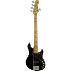 FENDER SQUIER DELUXE DIMENSION BASS V (MN) BLK