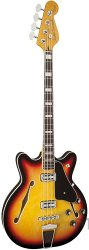 FENDER MODERN PLAYER CORONADO BASS RW 3TSB