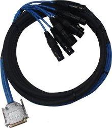AVID DB25-XLR M+F AES/EBU DigiSnake 4.