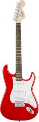 Fender Squier Affinity Series Stratocaster® Rosewood Fingerboard Race Red