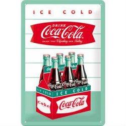 Nostalgic-Art Знак метал. `Coca-Cola - Diner Sixpack` 20х30см