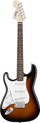 FENDER SQUIER AFFINITY STRATOCASTER® LEFT HANDED BROWN SUNBURST