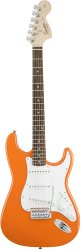 Fender Squier Affinity Series Stratocaster® Rosewood Fingerboard Competition Orange